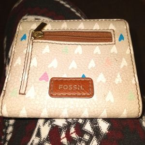 Girly Fossil wallet
